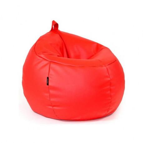 Puff Infantil Trufa - Rojo Vivo