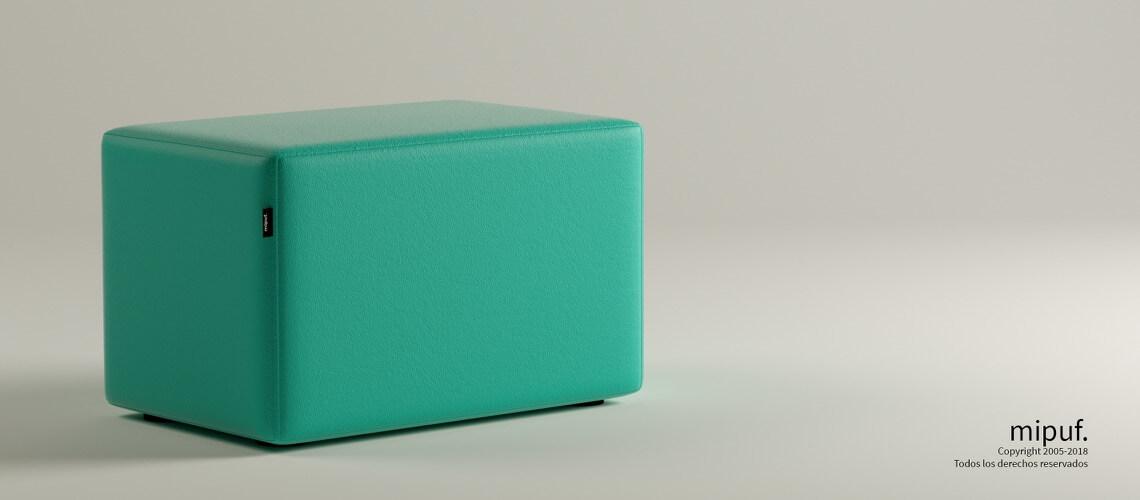 Puff Rectangular Cube 75x40 -Náutico Caribe
