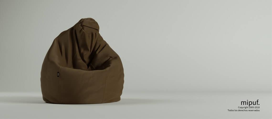 Puf Pera XL -Antelina Choco