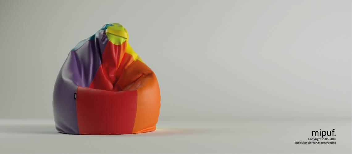 Puf Pera XL -Multicolor