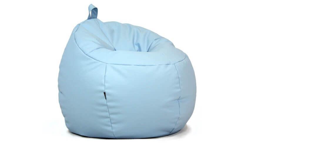 Puff Infantil Trufa - Azul Celeste