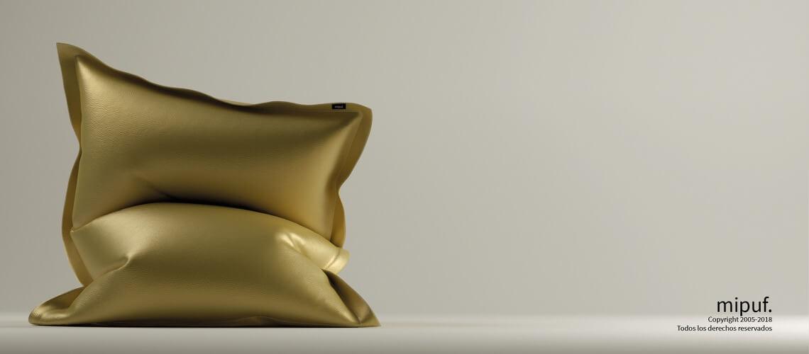 Big Puf Gigante - Polipiel Dorado