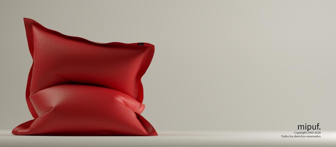 Big Puff Gigante - Polipiel Rojo