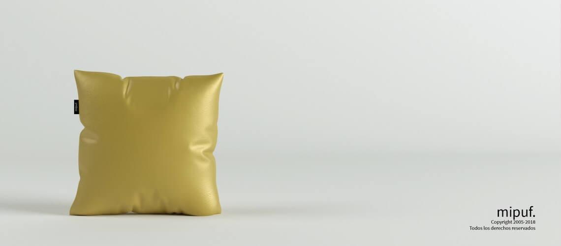 Cojín Dorado 45x45