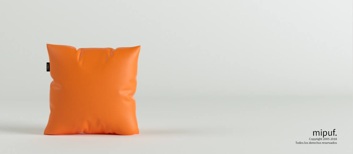 Cojín Naranja 45x45