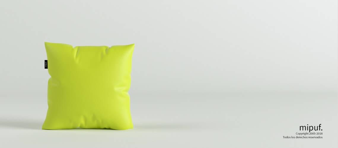 Cojín Verde 45x45