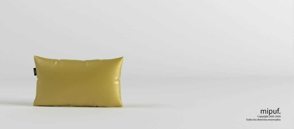 Cojín Dorado 50x30