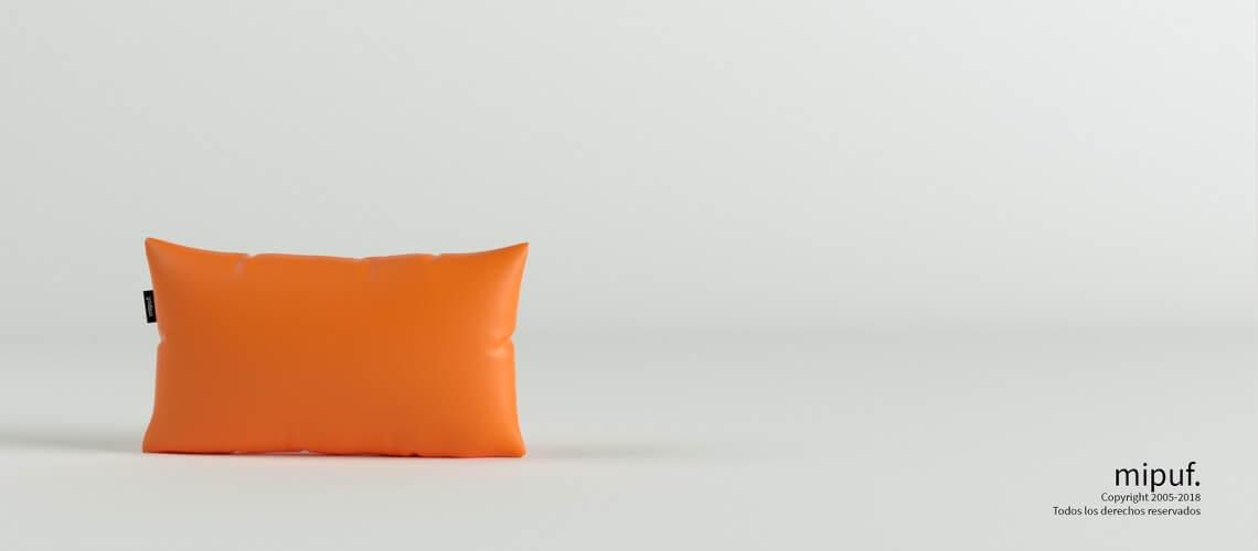 Cojín Naranja 50x30