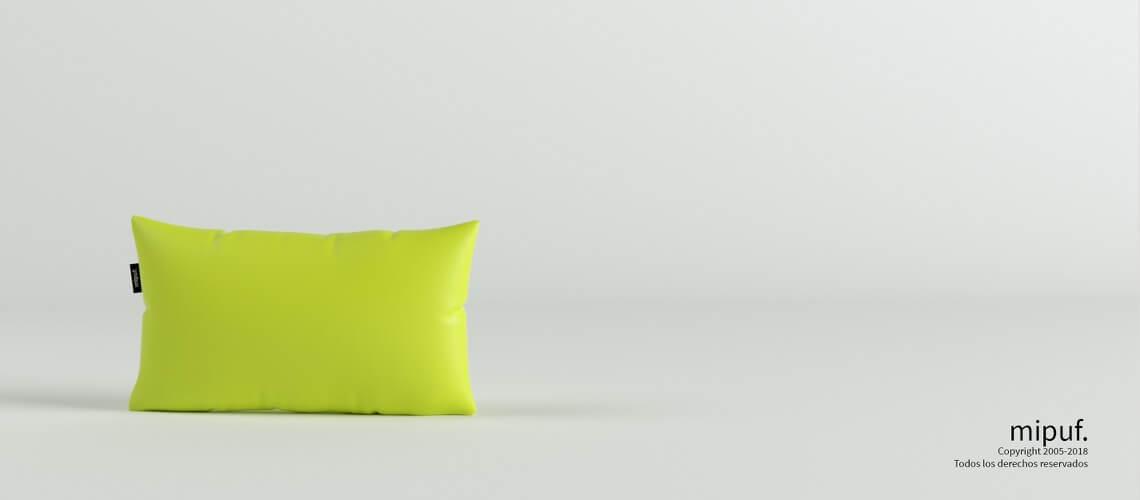 Cojín Verde 50x30