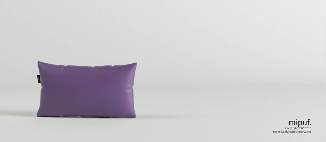 Cojín Violeta 50x30