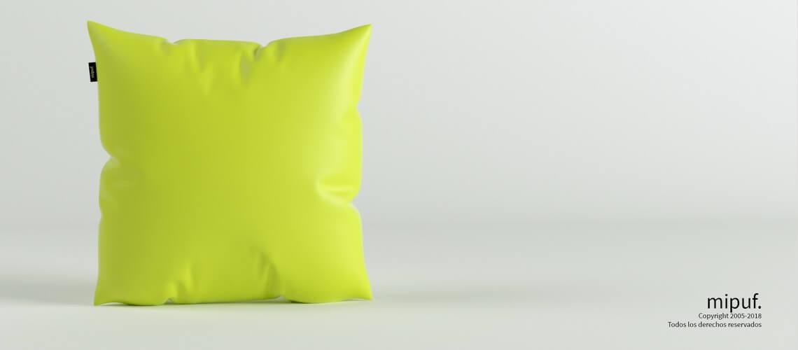 Cojín Verde 60x60
