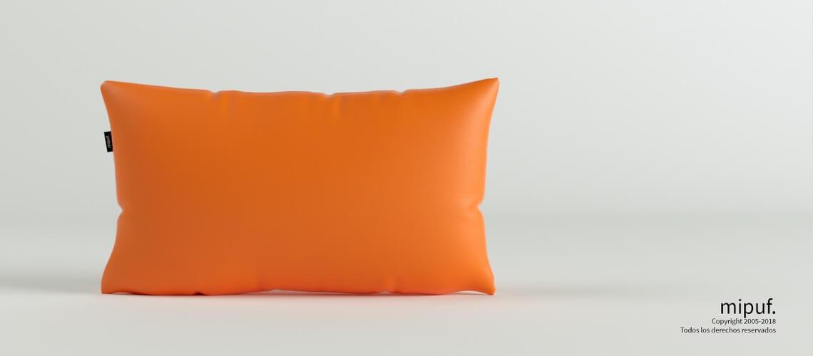 Cojín Naranja 70x50