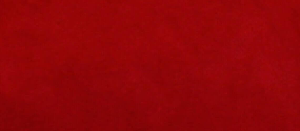 Cojín Om 45 cm - Antelina Rojo