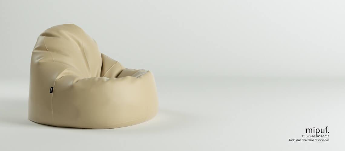 Puf Lounge - Náutico Crema