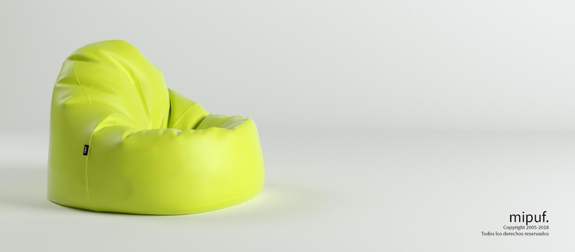 Puf Lounge - Polipiel Verde