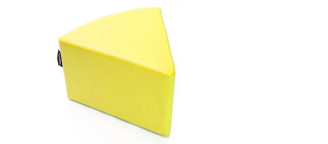 Puff Quesitos Polipiel Amarillo