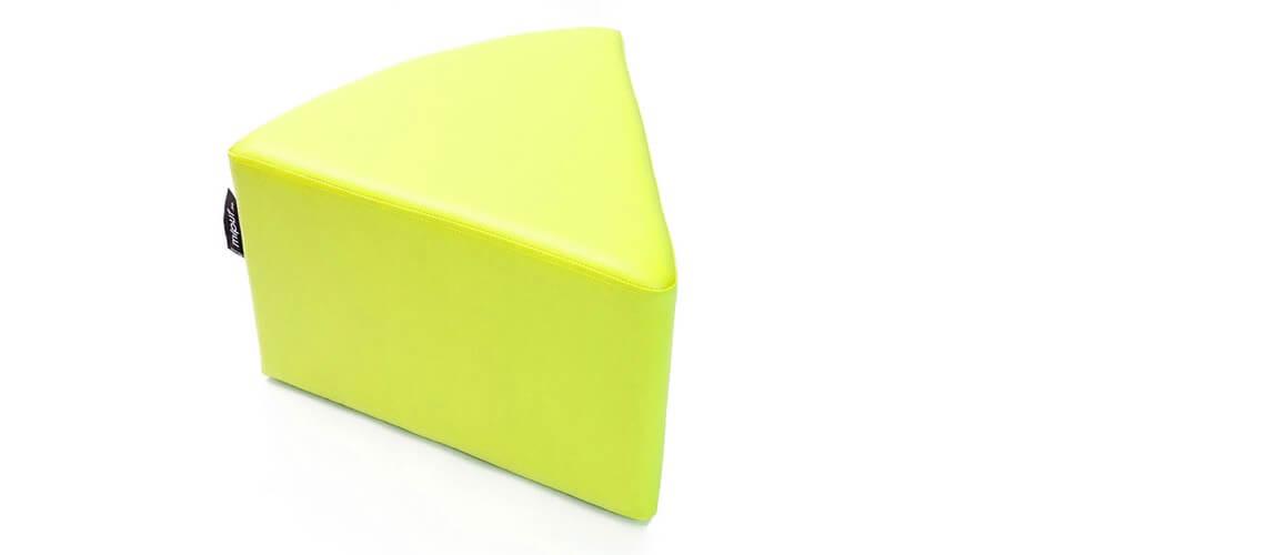 Puff Quesitos Polipiel Verde