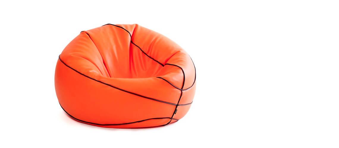 Puff Basket 90 Diamentro Juvenil - Naranja